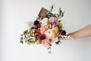 Medium Paper Wrapped Bouquet