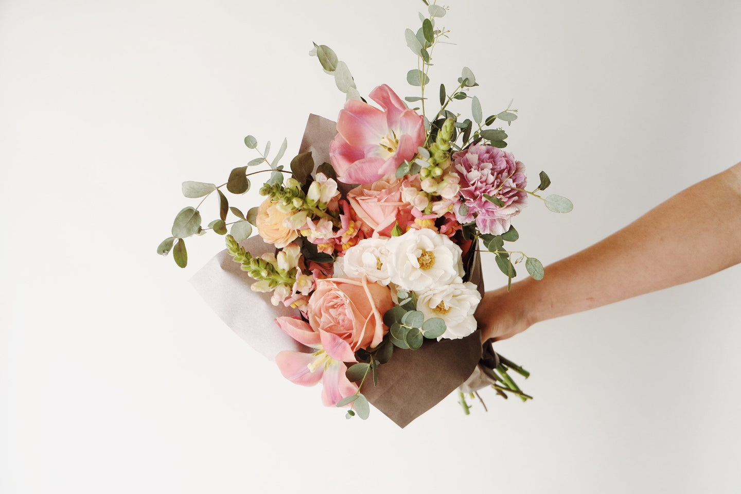 Small Paper Wrapped Bouquet