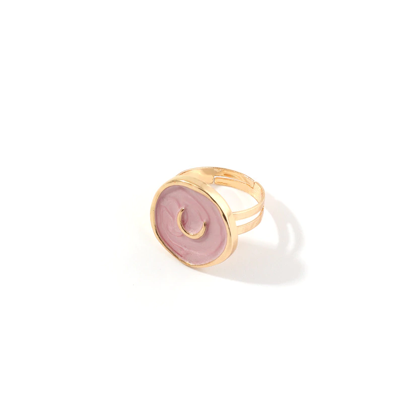 Oil Pop™  Handmade Cute Rings | Handmade Gold Adjustable Cute Rings For Women