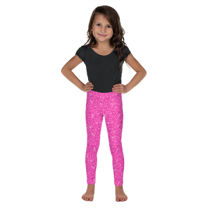 OOKS Glitter Pink Childrens Leggings