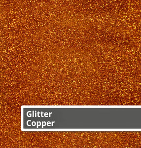 Siser Glitter Heat Transfer Vinyl Sheets