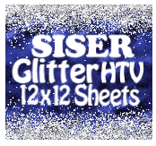 Load image into Gallery viewer, Siser Glitter Heat Transfer Vinyl Sheets