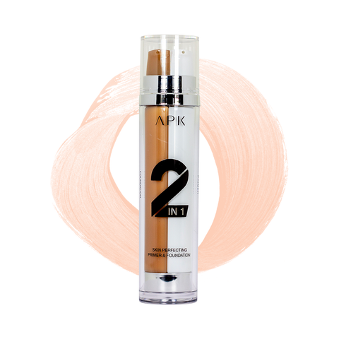 APK 2 in 1 Skin Perfecting Primer Foundation 01