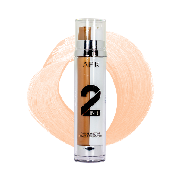 APK 2 in 1 Skin Perfecting Primer Foundation 02