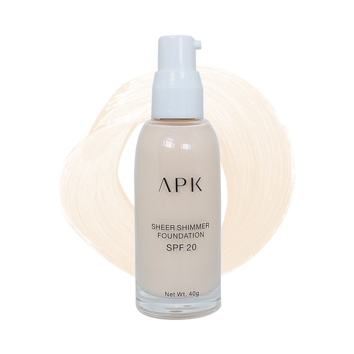 APK Sheer Shimmer Foundation Shade 1