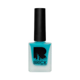 BRICK New York Matte Nails Abyssal Turquoise 07