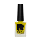 BRICK New York Matte Nails Aura Yellow 11
