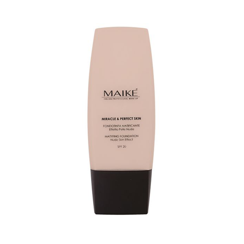 MAIKE Miracle and Perfect Skin Mattyfing Foundation Porcelain 01