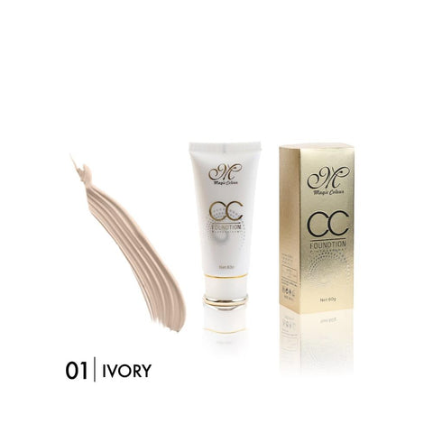 Magic Colour Crystal Flawless CC Foundation 01 Ivory