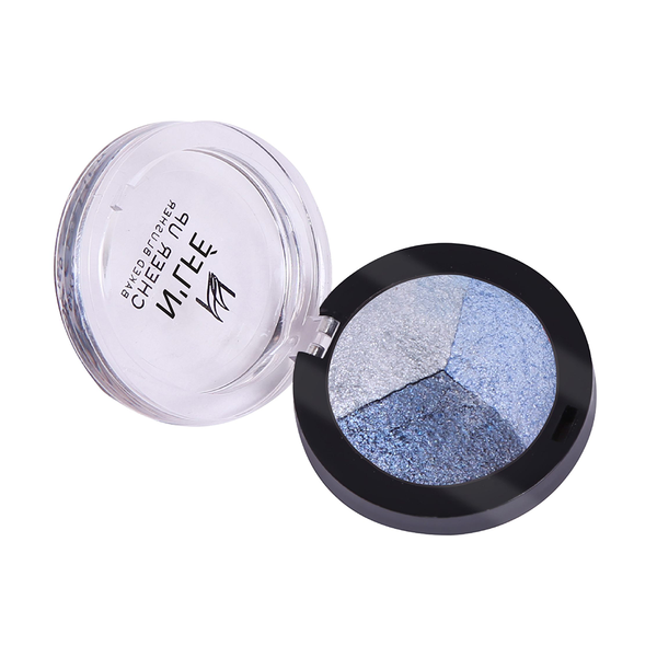 NLFE Color Trio 03 3 in 1 Eye Shadow Smoked Ice
