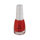 NLFE Super Matte Nail Polish SM02 Orange Red
