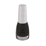 NLFE Super Matte Nail Polish SM10 Matte Black Magic