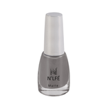 NLFE Super Matte Nail Polish SM12 Innocent Grey