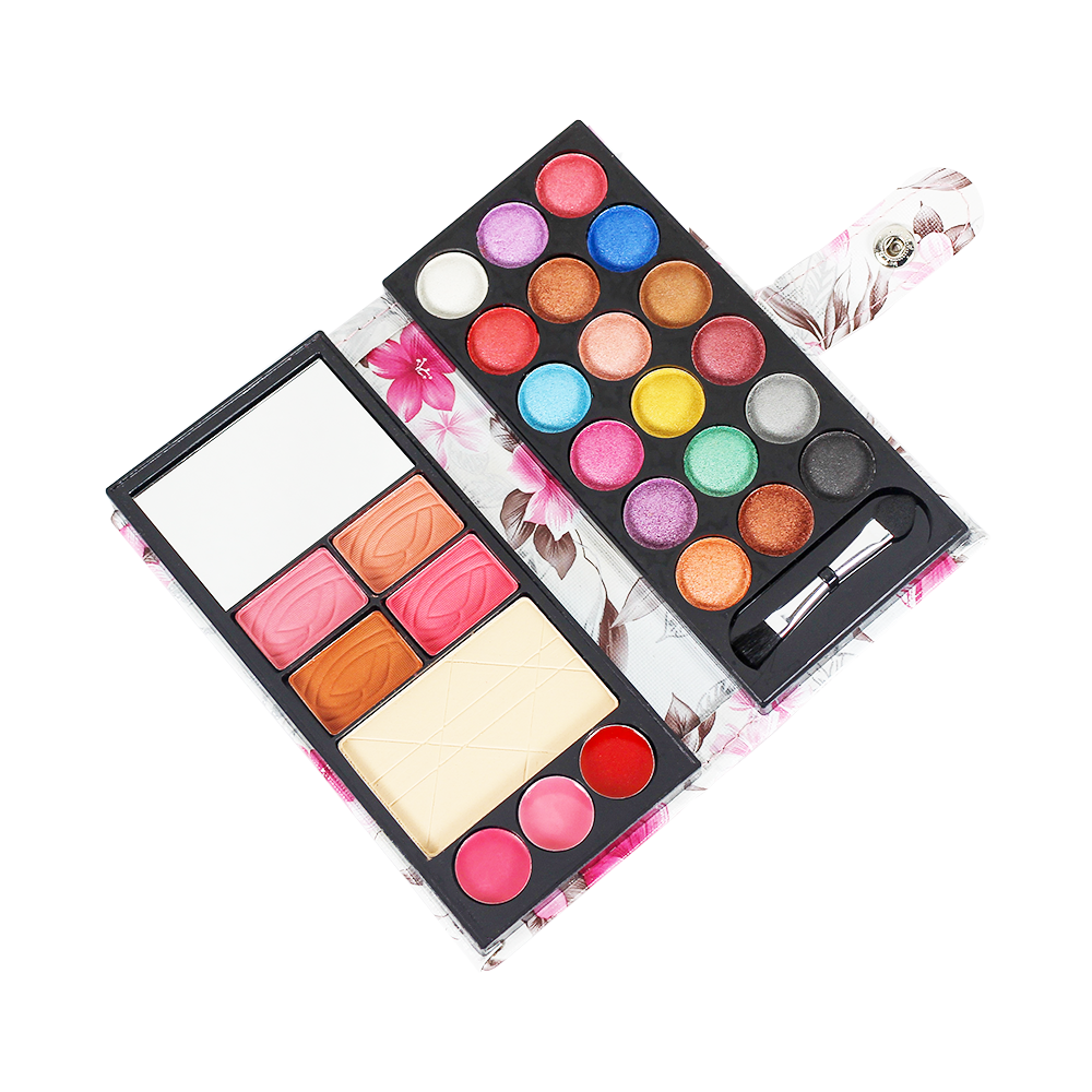 TFF 18 Eyeshadow + 4 Blusher + 1 Compact Powder 01