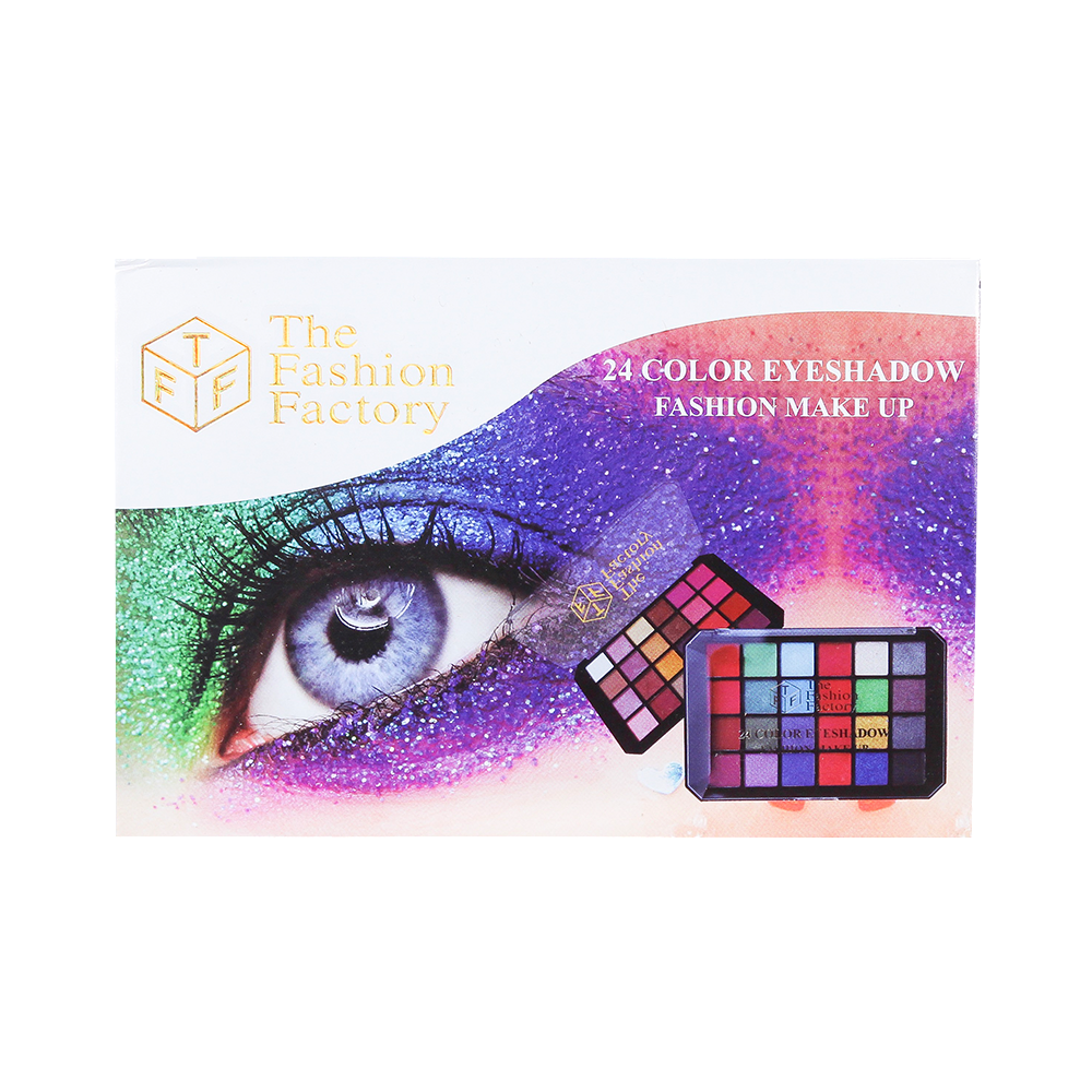 TFF 24 Color Eyeshadow Fashion Makeup 02