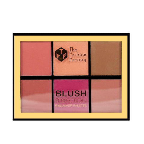TFF Blush Perfection 6 Blusher Palette 01