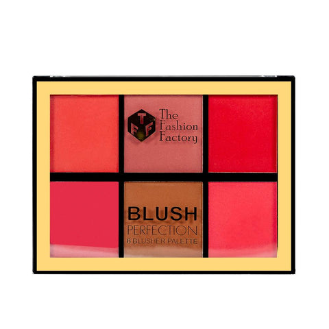 TFF Blush Perfection 6 Blusher Palette 02
