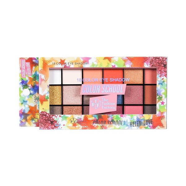 TFF Color School 18 In 1 Eyeshadow Palette 04