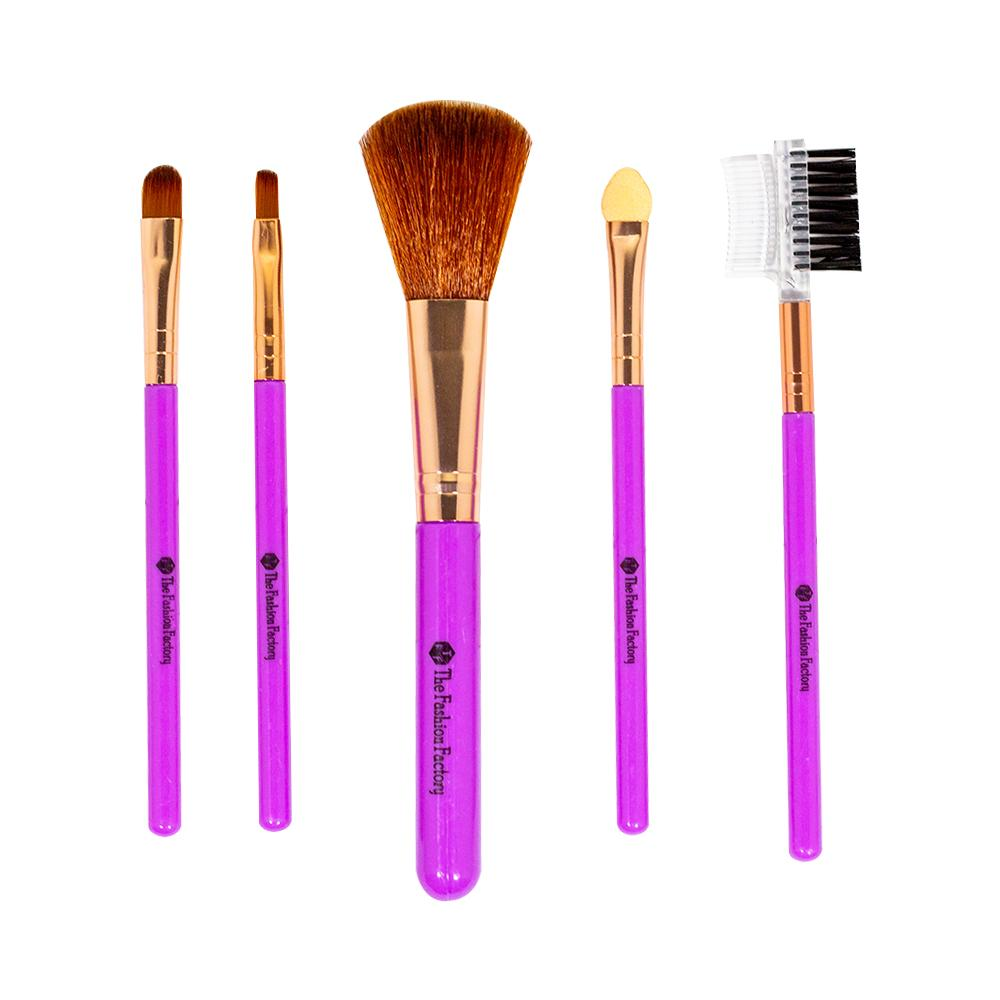 TFF Complexion Brush Makeup Tools Set Purple