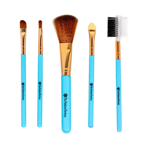 TFF Complexion Brush Set Makeup Tools Turquoise