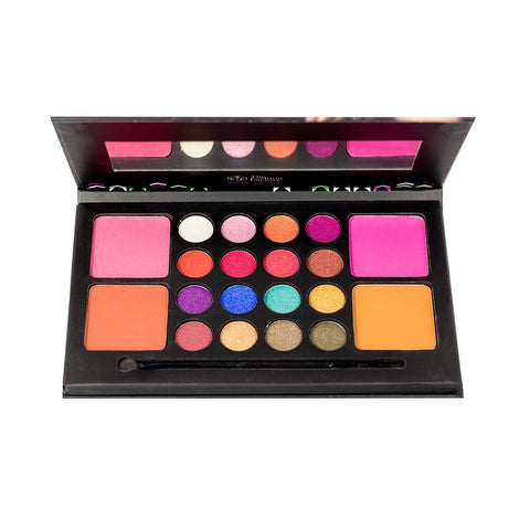 TFF Makeup Kit 16 eyeshadow 4 Blusher 01