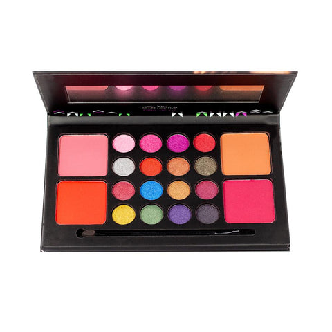 TFF Makeup Kit 16 eyeshadow 4 Blusher 02
