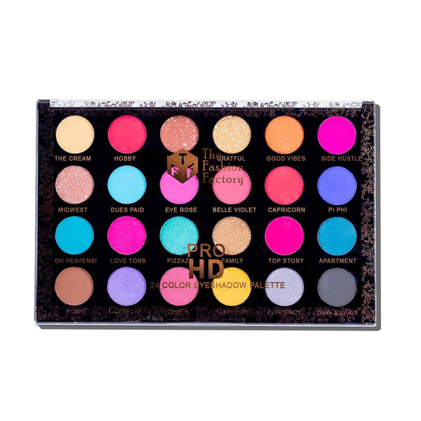 TFF PRO HD 24 Color Eyeshadow Palette 1