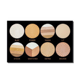 TFF PRO HD 8 Multy Highlighter Palette 1