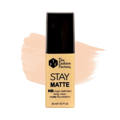 TFF Stay Matte HD Long Wear Matte Foundation