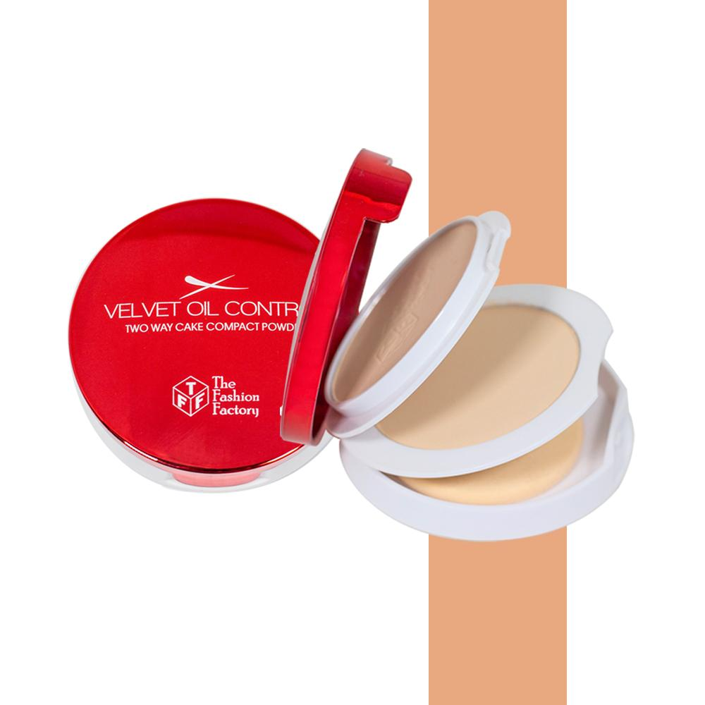 TFF Velvet Oil Control Two Way Cake Compact Powder 3