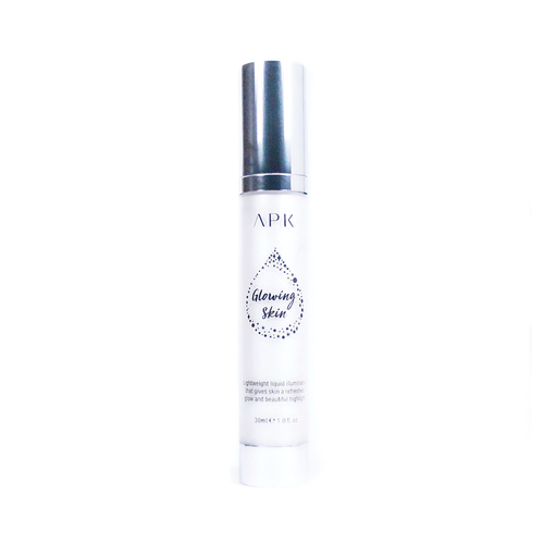 APK Glowing Skin Illuminator Shiny White Makeup Base