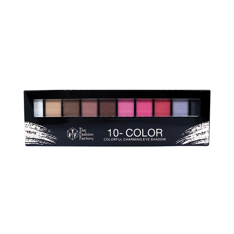 TFF 10 Color Charming Eye Shadow Shade 1
