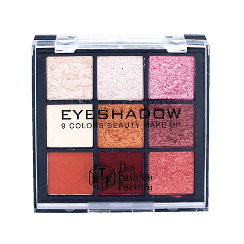 TFF Eyeshadow 9 Colors Beauty Makeup Palette 01
