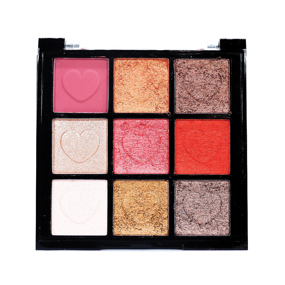 TFF Eyeshadow 9 Colors Beauty Makeup Palette 02
