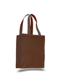 Brown tote bag, wholesale bags, wholesale canvas, canvas bags in bulk,