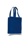 Royal tote bag, wholesale bags, wholesale canvas, canvas bags in bulk,