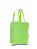 Lime tote bag, wholesale bags, wholesale canvas, canvas bags in bulk,