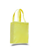 Yellow tote bag, wholesale bags, wholesale canvas, canvas bags in bulk,