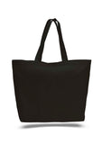 Black tote bag, beach canvas tote bags, discounted bags, discounted canvas,