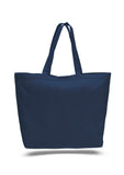 Navy tote bag, beach canvas tote bags, discounted bags, discounted canvas,