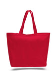 Red tote bag, beach canvas tote bags, discounted bags, discounted canvas,