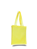 Yellow tote bag, canvas bags bulk, bulk tote bags, bag in bulk,