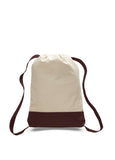 Brown drawstring backpack,drawstring backpacks in bulk, bag drawstring, canvas tote