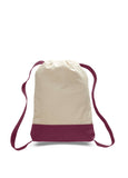 Maroon drawstring backpack,drawstring backpacks in bulk, bag drawstring, canvas tote