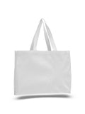 White canvas tote bag, promotional bags wholesale, promotional bags cheap, cheap shopping bags wholesale,