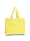 Yellow canvas tote bag, promotional bags wholesale, promotional bags cheap, cheap shopping bags wholesale,