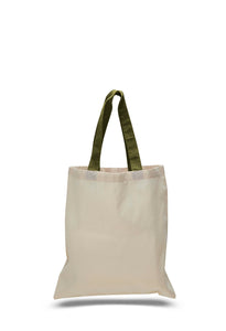 natural tote bag green handles, custom tote bags, totebags, totes bags, shopping bags, cheap tote bags,