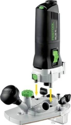 Festool MFK 700 EQ Modular Trim Router Set