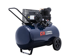 Load image into Gallery viewer, Air Compressor, 30-Gallon Horizontal Tank, Portable, Single-Stage, 10.2CFM, 3.7HP, 1 Phase (Campbell Hausfeld VT6271)
