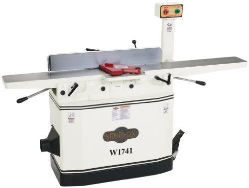 Shop Fox W1741 8-Inch Jointer With Parallelogram Adjustable Beds